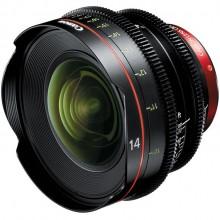 Lente Canon CN-E14mm T3.1 L F