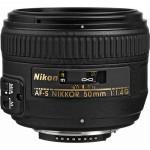 Lente Nikon AF-S NIKKOR 50 mm f / 1.4G