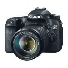 Câmera Canon EOS 70D + Lente 18-135mm STM