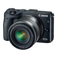 Câmera Canon EOS M3 Mark III + Lente EF-M 15-45mm f/3.5-6.3 IS STM