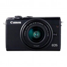 Câmera Canon EOS M100 EF M 15-45mm IS STM