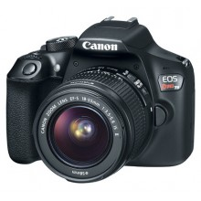Câmera Canon EOS Rebel T6 + Lente 18-55mm