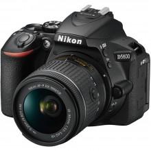 Câmera Nikon DSLR D5600 + Lente AF-P DX NIKKOR 18-55mm f/3.5-5.6G VR