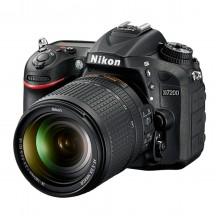 Câmera Nikon DSLR D7200 + Lente AF-S DX NIKKOR 18-140mm