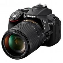 Câmera Nikon HD-SLR D5300 + Lente AF-S DX NIKKOR 18-55mm