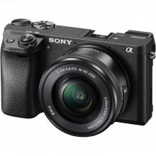 Câmera Sony Alpha ILCE - A6300L + Lente 16-50mm f/ 3.5-5.6 OSS