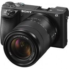 Câmera Sony Alpha ILCE - A6500 com Lente 18-135mm