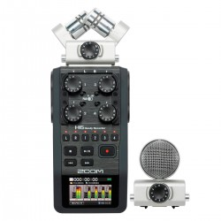 Gravador de Voz Zoom H6 Handy Recorder (KIT)