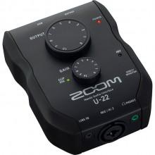 Interface de Áudio Zoom U-22 Handy